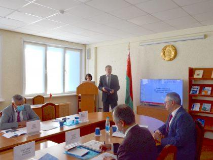 Выступление на круглом столев Институте экономики НАН Беларуси