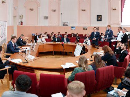 Сотрудники институтаприняли участиев Форуме финалистов Конкурса молодых международников СНГ