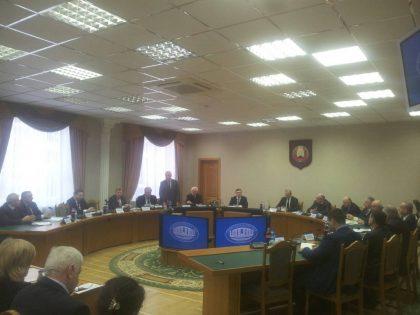 Презентация Года науки в Президиуме НАН Беларуси