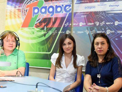 Участие в программе «Актуальный микрофон» на Белорусском радио