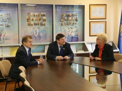 Посещение Минского колледжа предпринимательства
