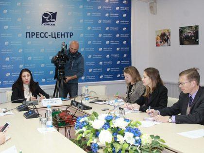 Пресс-конференция в Доме прессы
