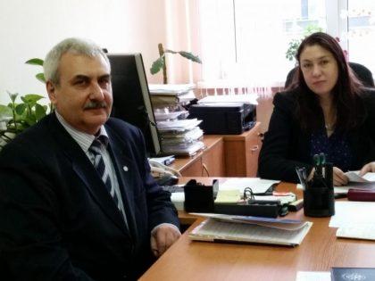Визит коллеги из Академии наук Армении