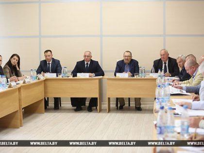 Выездное совещание Общественного совета при МВД Республики Беларусь